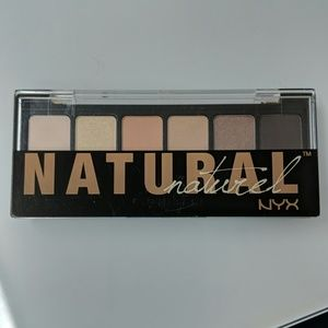 NYX natural Eye Shadow Palette 6 colors